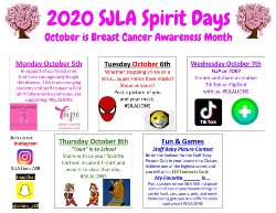 Spirit Week fall 2020